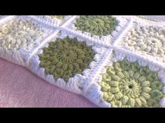 CROCHET: Sunburst Granny Square - Priscilla Hewitt pattern - YouTube
