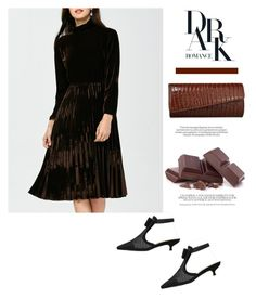 """""""Brown chocolate"""" by stellina-from-the-italian-glam ❤ liked on Polyvore"""