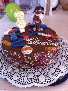 Dr la peluche cake