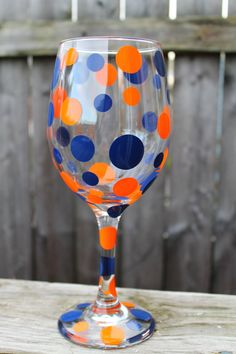 University of Illinois wine glass. I will need this when Maddie goes away to school.