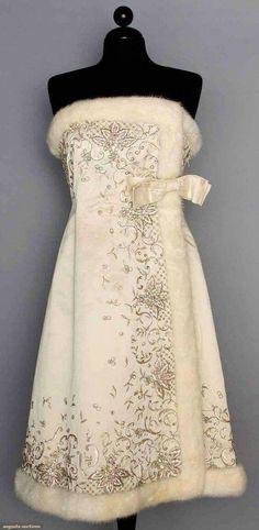 Jean Patou  Couture Evening Dress- 1960