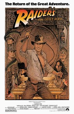 [ RAIDERS OF THE LOST ARK POSTER ]
