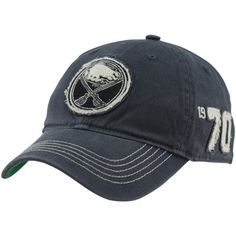 45e6ea3a766e8  47 Brand Buffalo Sabres Badger Franchise Fitted Hat - Navy Blue