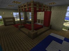 Minecraft Furniture - Bedroom