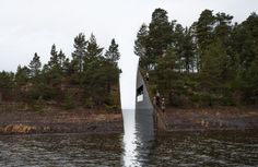 Norway memorial island Norway Landscape Wound Commemorating Utoya Mass Shooting