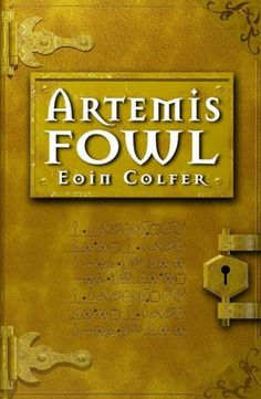 Artemis Fowl series by Eoin Colfer. I know this is the old school cover, but I just can't get used to the new one.