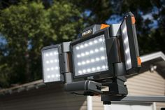 Ridgid 18V Folding Panel Light Review R8694221B  https://www.protoolreviews.com/tools/power/lighting/ridgid-18v-folding-panel-light-r8694221b/26297/