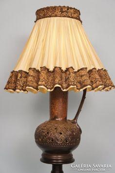 Régi hatalmas kancsó lámpa