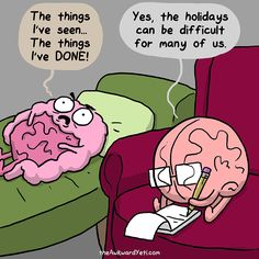 The holidays take its toll on the bowels