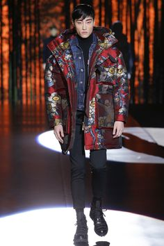 Dsquared2 Fall 2016 Menswear Fashion Show