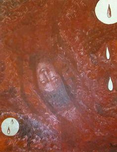 Original Artwork, Moon, Facebook, Canvas, Gallery, Artist, Painting, La Luna, The Moon
