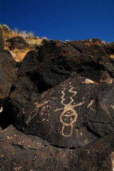 New Mexico Petroglyph by daverice, via Flickr