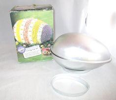 3D Easter Egg Cake Pan Set Complete 2105-4793   1994  EASTER Candy Mold Easter Egg Cake Pan, Easter Eggs, Easter Candy, Candy Molds, Pan Set, Cake Pans, 3d, Ebay, Cake Shapes