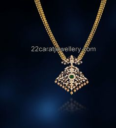 Pin by katragadda saisravani on pendants pinterest indian diamond pendant with chain aloadofball Choice Image