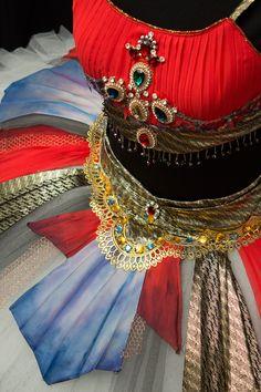 Tutu · Medora · Ballet · Corsario · Le Corsaire · Costume Designer · Diseño de Vestuario: Ana Carolina Figueroa