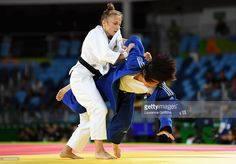 Irina Dolgova of Russia competes against Sol Mi Kim of Rupublic of Korea in the Women's -48 kg Judo on Day 1 of the Rio 2016 Olympic Games at Carioca Arena 2 on August 6, 2016 in Rio de Janeiro, Brazil. (1024×713)