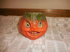 halloween paper jack o lantern
