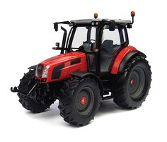 Universal Hobbies 1:32 Same Virtus Diecast Model Tractor J4174 This Same Virtus 120 Diecast Model Tractor is Red and features working wheels. It is made by Universal Hobbies and is 1:32 scale (approx. 32.8cm / 12.9in long). #UniversalHobbies #ModelTractor #Same
