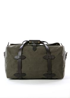 Filson Small Duffle Bag in Otter Green