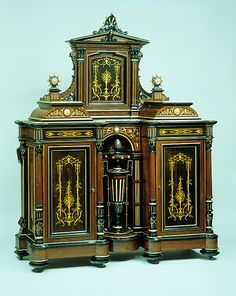 1870 American (New York) Cabinet at the Metropolitan Museum of Art, New York