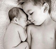 Sibling photo.