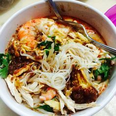 Home Cooked Sarawak Laksa Is Always The Best Add In Wver You Want