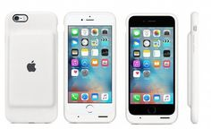 Apple smart battery case created specifically for iPhone 6 models, offers up to 25 extra talking hours. Apple's smart battery case made from soft elastomer… Phone Cases Iphone6, Iphone 7 Plus Cases, Iphone Case Covers, Apple Iphone 6, Apple Ipad, Iphone 11, Apple Case, Ipad Mini, Iphone 6 Models