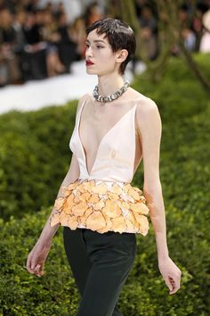 that top though (in love) Raf Simons Dior Fashion Show 2013