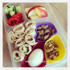 Matpakkebloggen: Lefseboks Take Out, Muffin, Breakfast, Food, Morning Coffee, Muffins, Meals, Cupcakes, Yemek