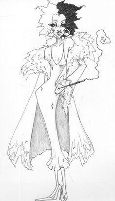 Cruella DeVil by lividkoala