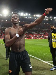 Paul Pogba of Manchester United walks off after the Premier League match between Manchester United and Huddersfield Town at Old Trafford on December 2018 in Manchester, United Kingdom. Get premium, high resolution news photos at Getty Images Mino Raiola, Huddersfield Town, Manchester United, Manchester England, Paul Pogba, Premier League Matches, Old Trafford, Sport Football, United Kingdom