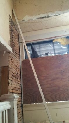 Paneling and sheet rock removal