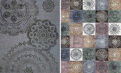 Alfombras Estilo Tradicional alfombra encaje romántico