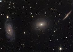 56 отметок «Нравится», 1 комментариев — Linda's Favourite (@lindasfavourites) в Instagram: «Three Galaxies in Draco #three #galaxies #draco  #igers #picoftheday #sun #universe #photooftheday…»