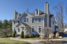 Tasteful, Unassuming Colonial | Basking Ridge Somerset County Single Family Home Home for Sales Details
