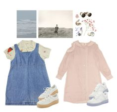 """""""soft"""" by paper-freckles ❤ liked on Polyvore featuring Margaret Howell, NIKE, Puma and Fox Run"""