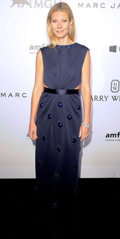 Gwyneth Paltrow's Red Carpet Style - In Marc Jacobs, 2015 from InStyle.com