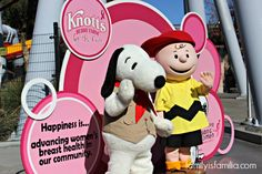 Knott's Berry Farm For The Cure: A Stand Against Cancer-Family is Familia
