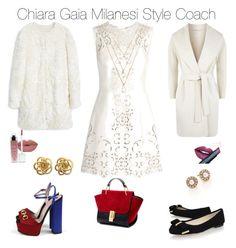 """Pure white"" by chiaragaia on Polyvore featuring Dolce&Gabbana, MANGO, MaxMara, Gucci, MICHAEL Michael Kors, Fiebiger, Forever 21, Oscar de la Renta, women's clothing and women"