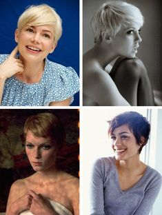 some of my favourite pixie cuts
