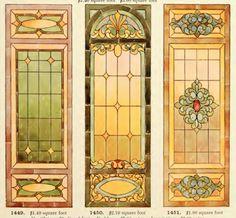Laurelhurst Craftsman Bungalow: Amazing Art Glass Catalog