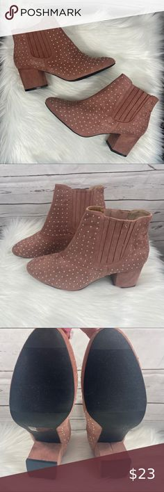 WINE COLOR ANKLE BOOTIES LACE UP ANKLE HIGH INNER LOW HEEL WOMEN BOOTS SIZE 8