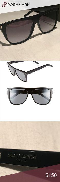 *AUTHENTIC* Saint Laurent Sunglasses! 🕶 Super sheik authentic saint laurent sunglasses. Purchased at Bloomingdales in NYC. Saint Laurent Accessories Sunglasses