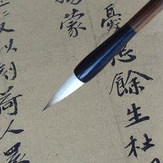 14.90$  Buy now - High quality RUYANGLIU writing brush medium regular script  multiple hairs calligraphy brush  #magazineonline