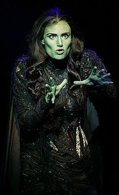 and one day he'll say to me Elphaba, girl who is so superior, shouldn't someone so good inside, have a matching exterior?