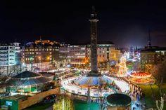 The Melville Monument and Edinburgh's Christmas 2015