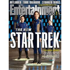 This week's Entertainment Weekly has three different Star Trek: Discovery covers!  Star Trek: Discovery stars:Sonequa Martin-Green Jason Isaacs Doug Jones Shazad Latif Mary Wiseman Anthony Rapp James Frain  #StarTrekDiscovery #StarTrek #Discoery #EntertainmentWeekly #EW #NothingButGeek #NBG #NBGeek  http://ift.tt/2uCsVRm