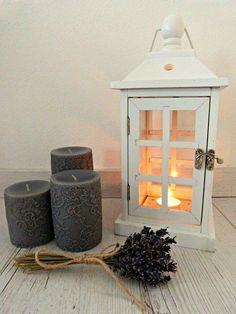 #decor #vintage #lavander #candle #lacecandle #lantern #light