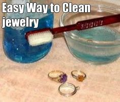 Easy way to keep your jewelry sparkling clean!