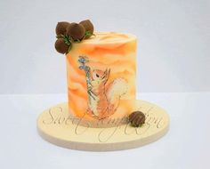 CPC Beatrix Potter Collaboration - Squirrel Nutkin Cake  by Urszula Landowska